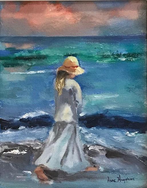 Panama City Beach Artist Anne Hugghins